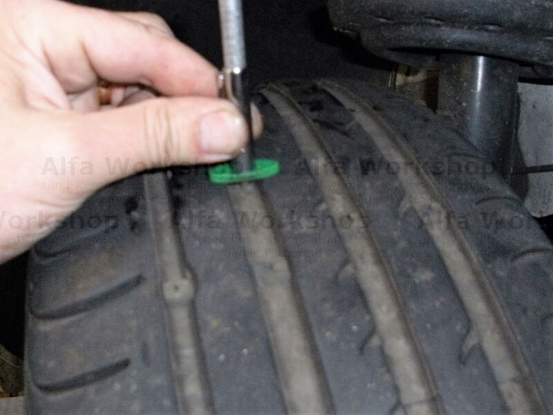 <p>Check tyre tread depth and pressure, dont forget to check the tyre side wall for damage and bulges while you are there.
