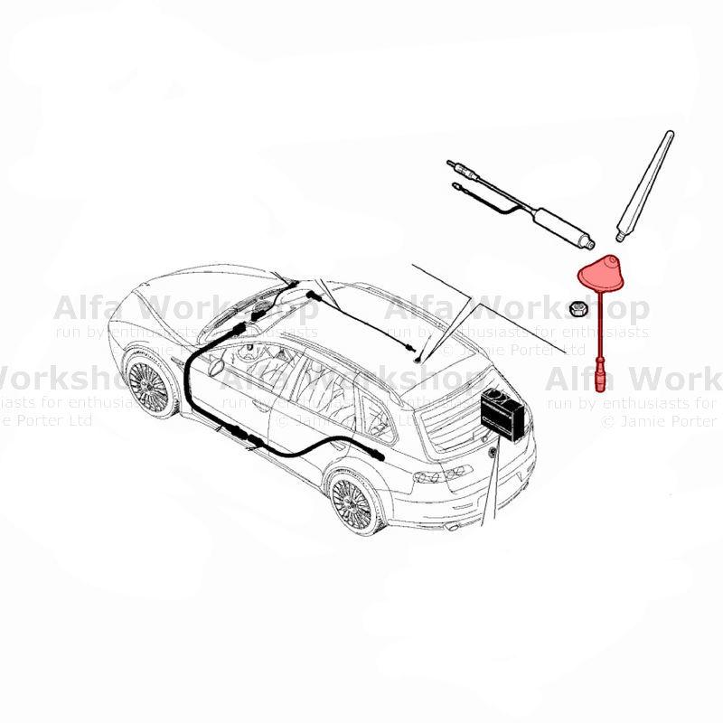 Alfa Romeo 159 Radio