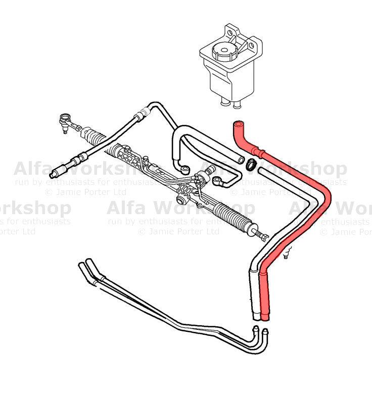 Alfa Romeo Power Steering